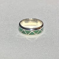 Sterling Silver Jade Ring  Ashburn, 20147