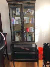 ANTIQUE Glass cabinet and Wooden storage with drawers Oxon Hill, 20745