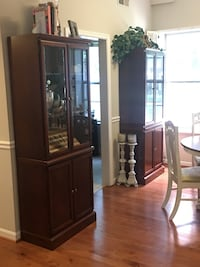 Must go - 2 solid wood cabinets Arlington, 22201