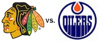 Oilers vs Chicago Blackhawks Nov 1 Sherwood Park