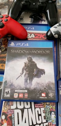 PS4 Middle Earth : Shadow of Mordor.