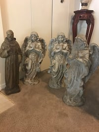 $100 each garden statue 2ft tall heavy cement buy more save more Gaithersburg, 20877