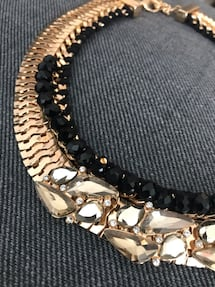 Statement necklace. Aldo. Perfect for the holidays.