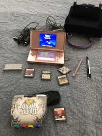 Nintendo DS lite. With games, chargers, styles, and carrying case.  Klamath Falls, 97603