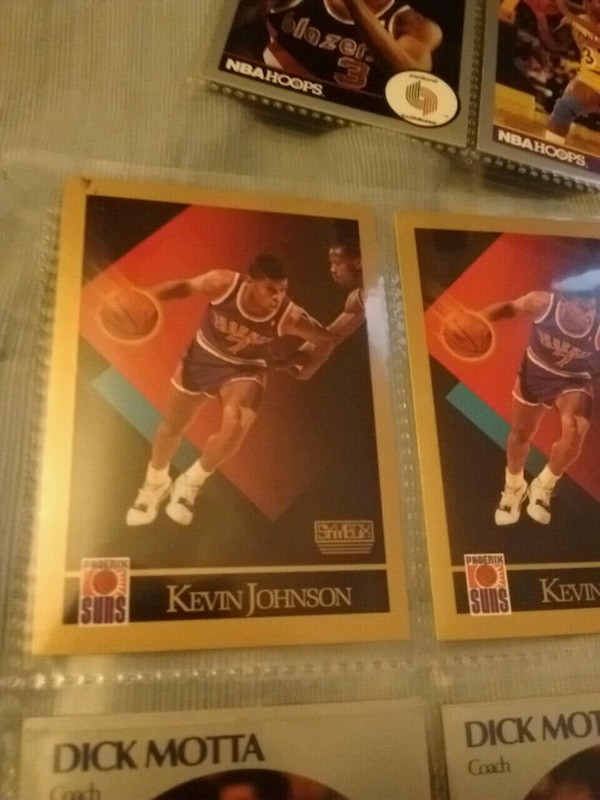 Kevin Johnson trading card