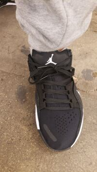 Jordan's. Worn only one time. Today. New York