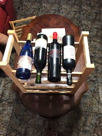 Wooden Wine Rack Houston, 77083