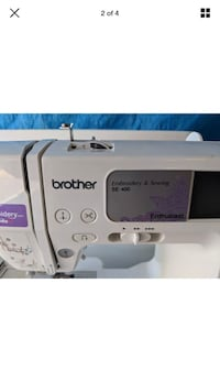 embroidery machine brother se 400 Elkhart, 46516