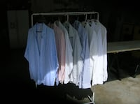 Eight Long Sleeve Dress Shirts Springfield