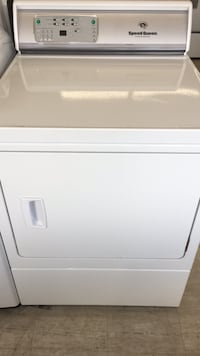 white front-load clothes dryer Mount Clemens, 48043