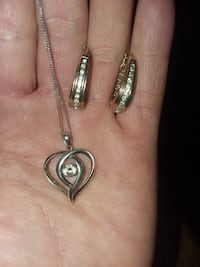 Jewelry rings necklace and earrings