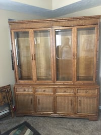 AMERICAN OF MARTINSVILLE BAMBOO WICKER HUTCH Clarksville, 37040
