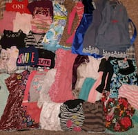 Bag lot full of mostly 5t clothes some 4t.  Edmonton, T5K