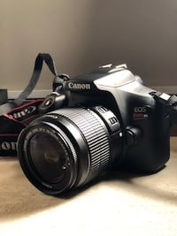 Canon EOS Rebel T6 with EFS 18-55mm Lens Springfield, 22153