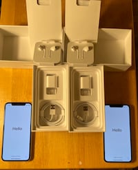 iPhone X (Good as new) 64GB. Selling for $575 each (negotiable). Fairfax