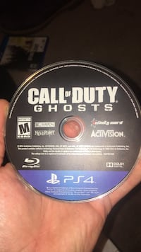 Call of Duty Black Ops III PS4 game disc