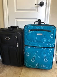 Two suitcases!