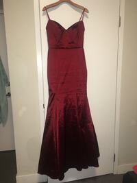 Red prom/formal dress