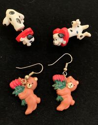 Valentines earrings  Waterloo, N2T 0B6