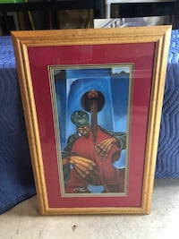 With Love 2 By Buchi Upjohn Gold Framed African American Picture Manassas, 20112