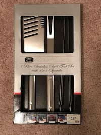 NEW,PREMIUM 3 Piece Stainless Steel Tool Set with 4 in 1 Spatula Rockville, 20852