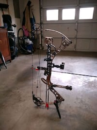 black and gray compound bow Stephens City, 22655