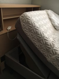 Tempur-Pedic twin mattress with adjustable base.  Comes complete with headboard Hollister, 95023