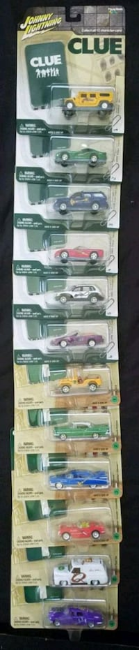 Johnny Lightning Complete Clue set, Scooby Doo and Simpsons Sets!! Oklahoma City, 73119