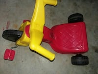 toddler's red and yellow pedal trike Washington, 20032