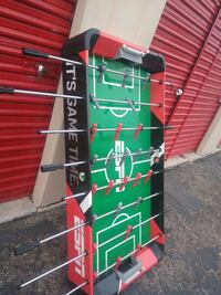 green and red foosball table Tucson, 85705