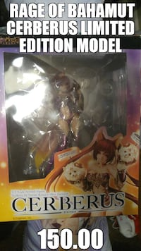 rage of bahamut cerberus limited edition model Clarksville, 37042