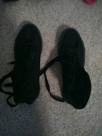 pair of black low top sneakers Norfolk, 23513