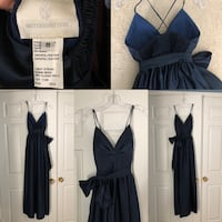 Dark blue formal gown North Potomac, 20878