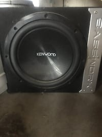 Kenwood 12 and alpine amp 100$ obo Fort Saskatchewan, T8L 0A7