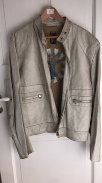 Leather jacket sealkay size L   Oslo, 0366