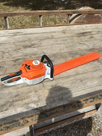 "Stihl hedge trimmer. 24"" double sided Keswick, L4P 2L5"