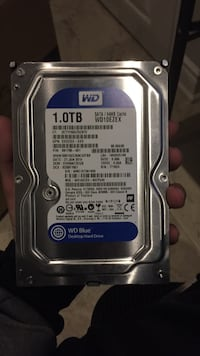 We 1 terabyte hard drive  Mississauga, L5N