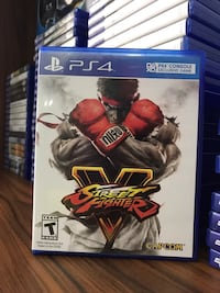 Ps4 Street Fighter 5