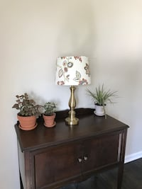 Target lamp with floral shade Nashville, 37115