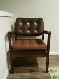 Brown Accent Chair