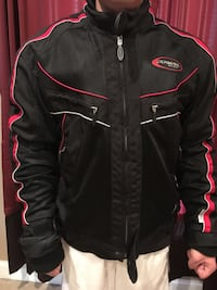 Olympia Motorsport Convertible Riding Jacket W/Protective Pads Springfield, 22153