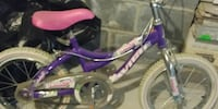purple and white bicycle with training wheels Fair Lawn, 07410