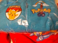 Teal Pokemon Pikachu HOODIE 6 7 8 years old fit Manchester, 03103