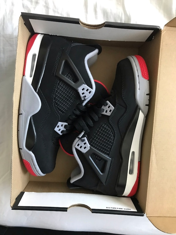 Air Jordan Bred 4s DS