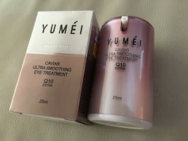 YUMEI caviar ultra smoothing eye treatment Q10 Extra