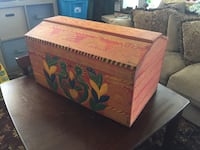Cool little hand painted trunk Winchester, 22603