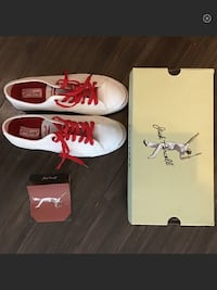 Jack Purcell Converse Leather Red/White, US10 Toronto, M8Y 0A7