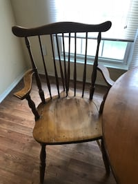 Wooden table and 4 chairs Raleigh, 27604