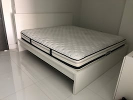 Mattress and Bed Frame KING SIZE