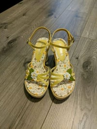 Flower High Heel Sandals Surrey, V3R